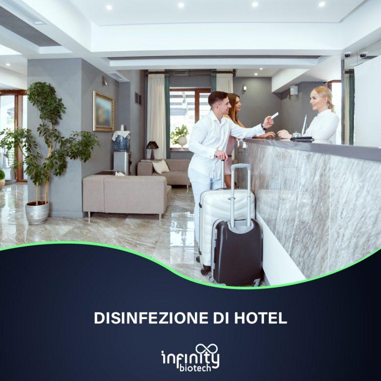 DISINFEZIONE DI HOTEL